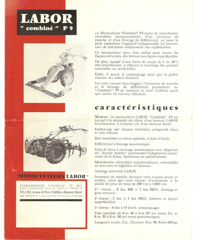 labor - Motoculteur Labor P20 Doc_la14