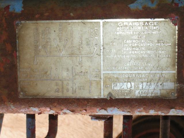 labor - Motoculteur Labor P20 P3200011