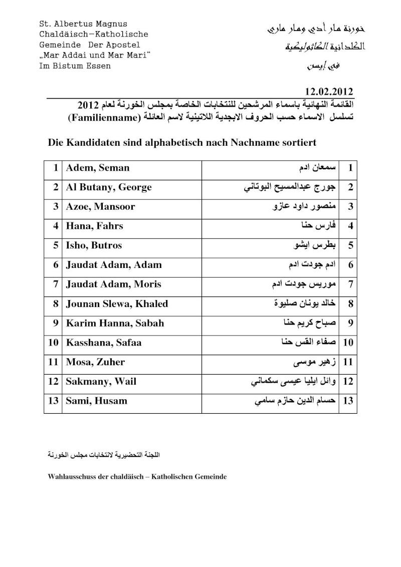 قائمة بأسماء المرشحين لعضوية مجلس الخورنة Kandid10