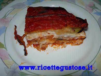 Parmigiana di mare , Ricetta fotografata su www.ricettegustose.it Parmig10