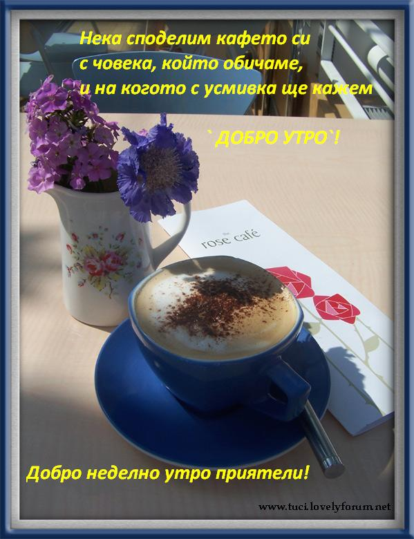 Картинки за добро утро, слънчев ден и приятна вечер 10761042