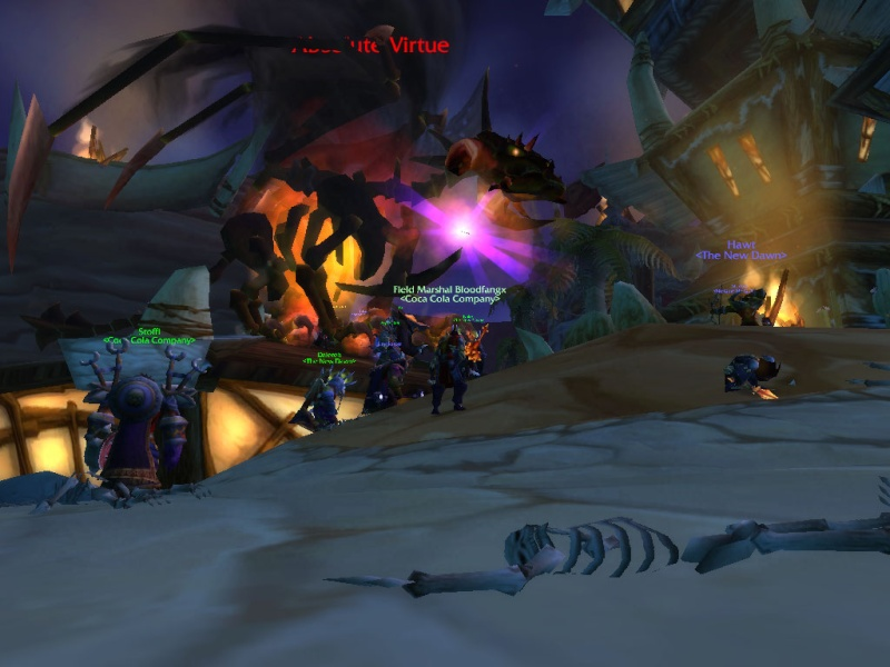crazy event in org Absoulute vitue boss Wowscr11