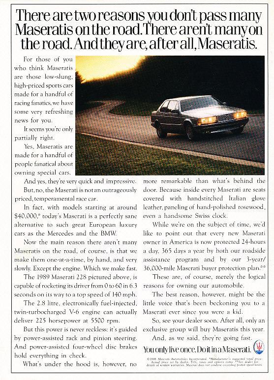Vecchie pubblicità Maserati - Pagina 2 Masera15
