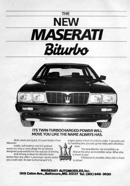 Vecchie pubblicità Maserati - Pagina 2 Masera16