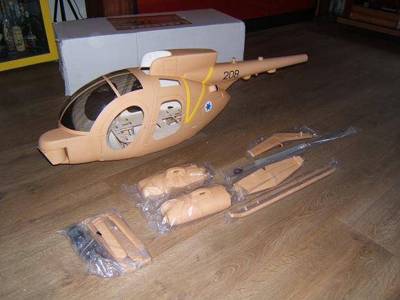 Hughes 500MD Tow Defender sur HK600GT Dscf3931
