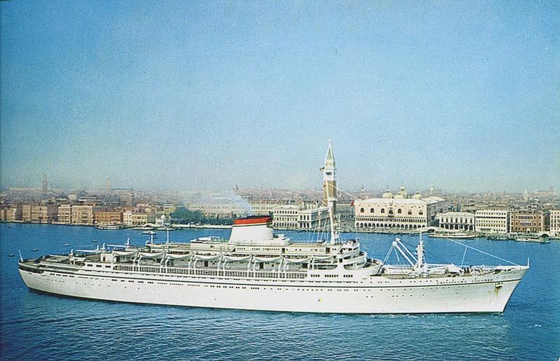 'Cristoforo Colombo' - Italia nav. - 1953 001bia10