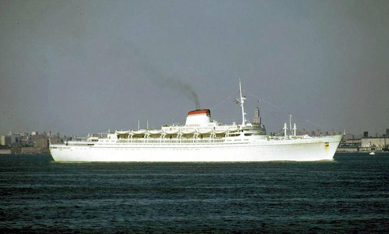 'Cristoforo Colombo' - Italia nav. - 1953 004bia10