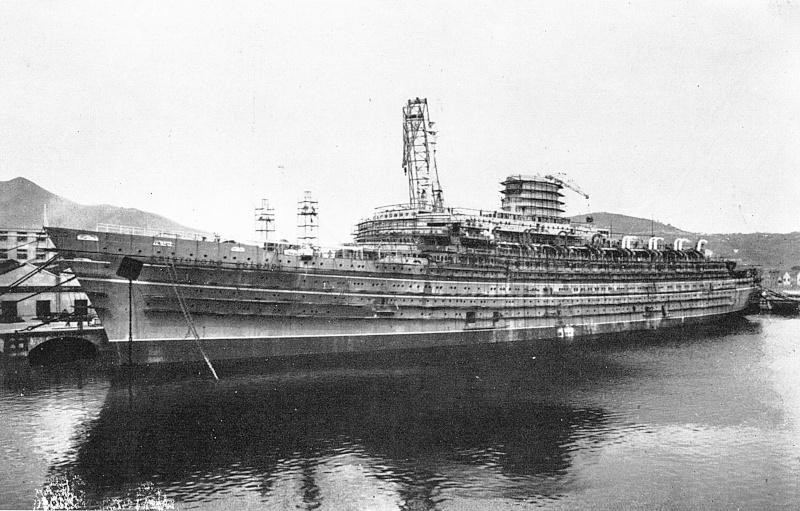 'Cristoforo Colombo' - Italia nav. - 1953 004ner10
