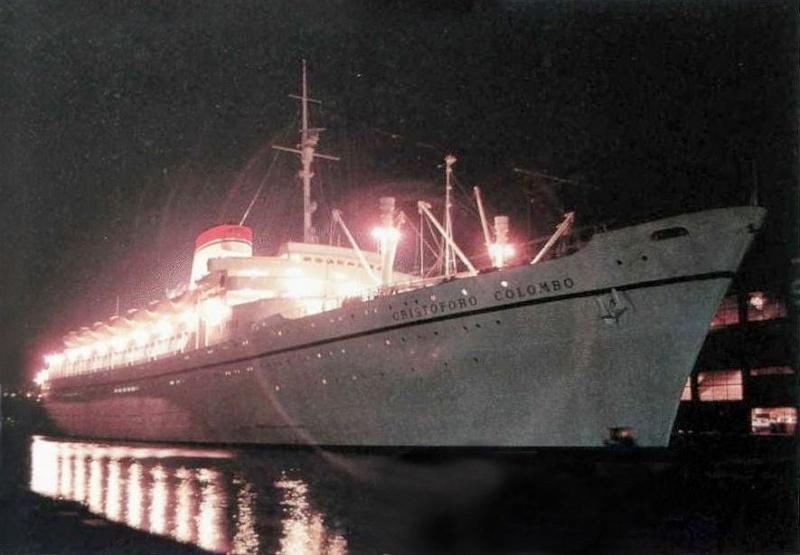 'Cristoforo Colombo' - Italia nav. - 1953 005bia10