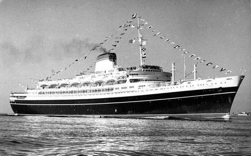 'Cristoforo Colombo' - Italia nav. - 1953 005ner10
