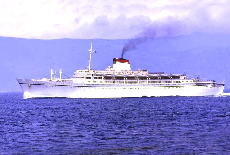 'Cristoforo Colombo' - Italia nav. - 1953 006bia10