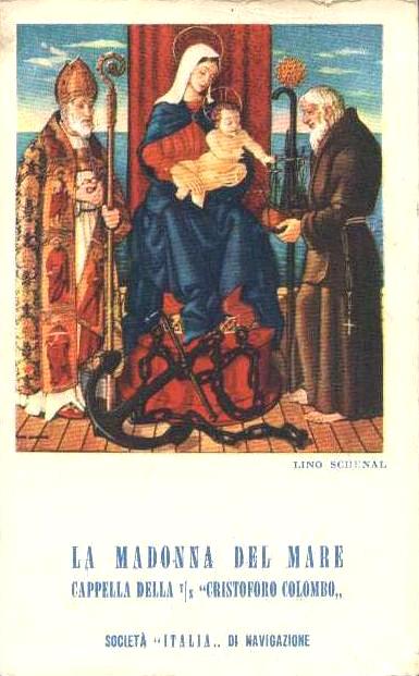 'Cristoforo Colombo' - Italia nav. - 1953 007ane10