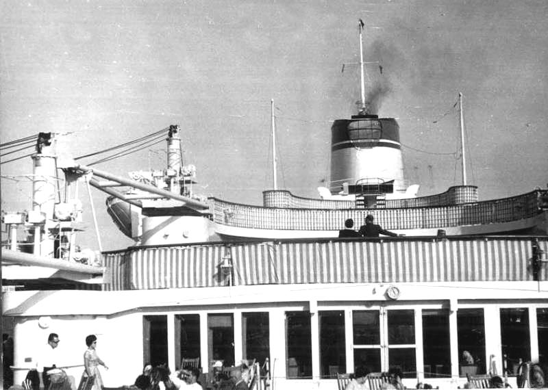 'Cristoforo Colombo' - Italia nav. - 1953 007ner10