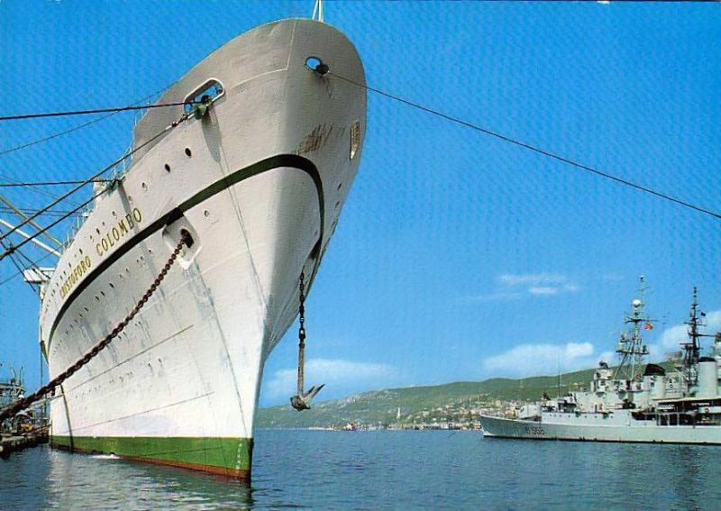 'Cristoforo Colombo' - Italia nav. - 1953 008bia10