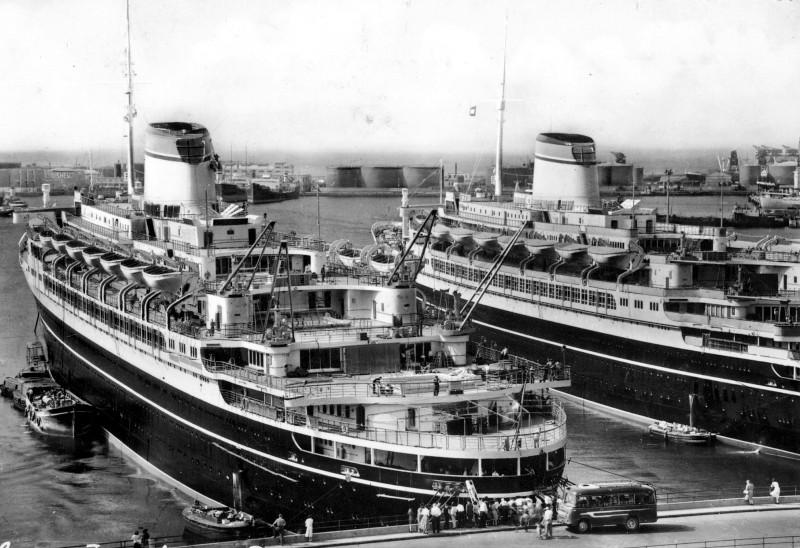 'Cristoforo Colombo' - Italia nav. - 1953 009ner10