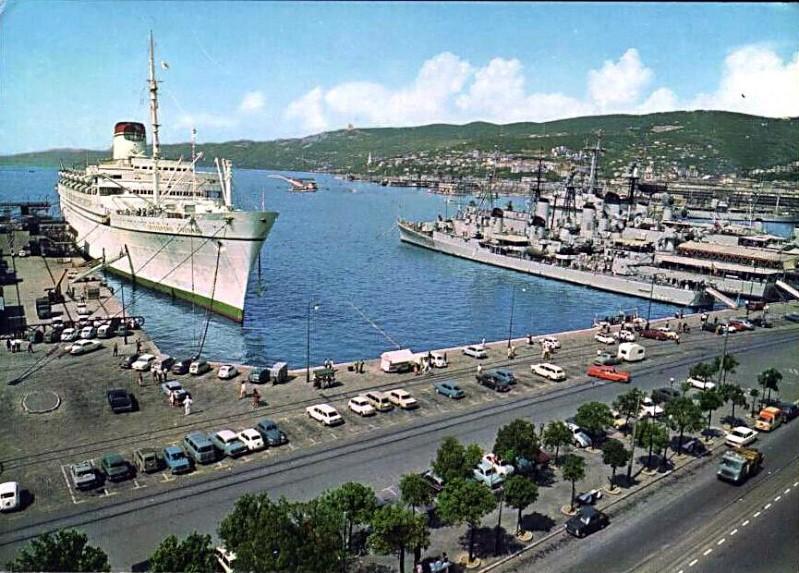 'Cristoforo Colombo' - Italia nav. - 1953 010bia10