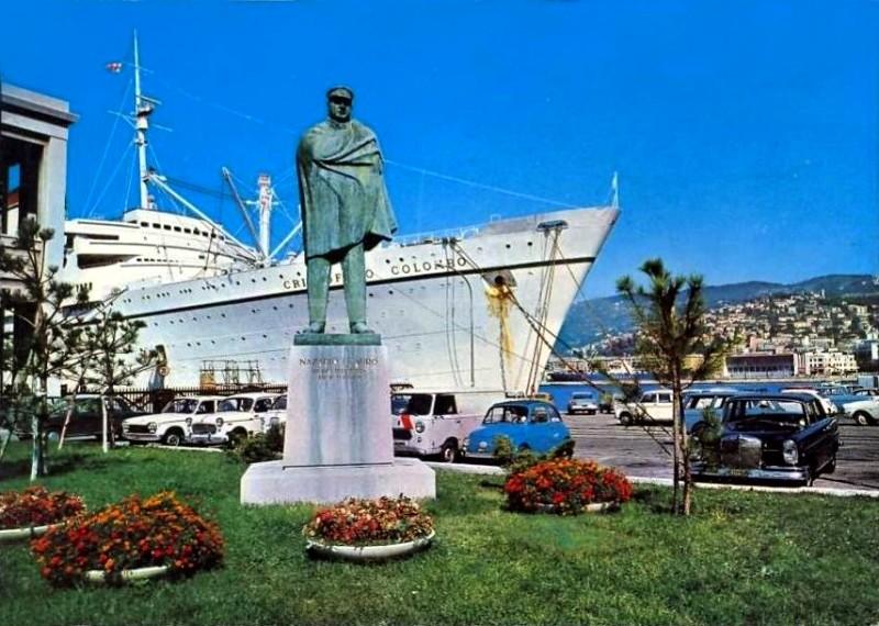 'Cristoforo Colombo' - Italia nav. - 1953 011bia10