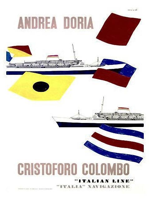 'Cristoforo Colombo' - Italia nav. - 1953 012ane10