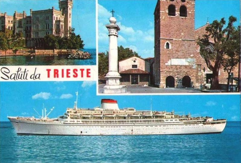 'Cristoforo Colombo' - Italia nav. - 1953 012bia10