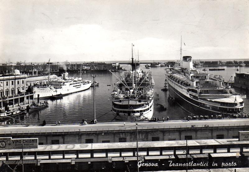 'Cristoforo Colombo' - Italia nav. - 1953 012ner10