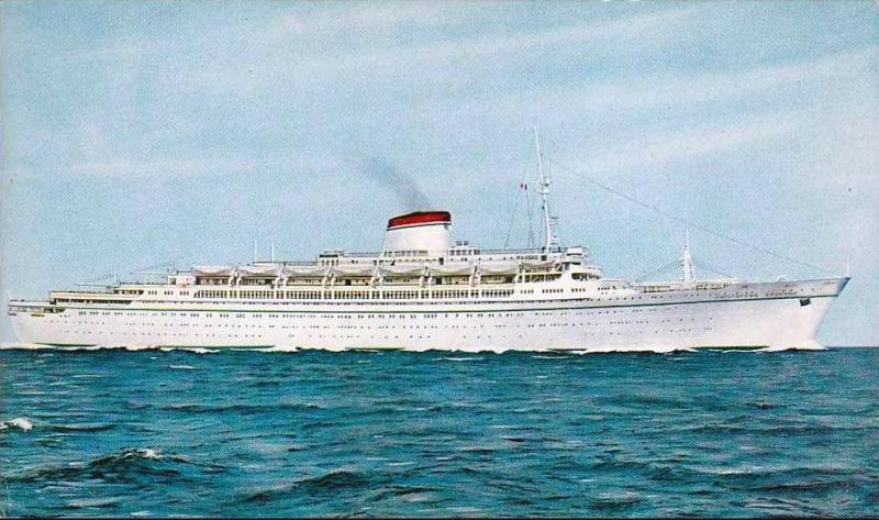 'Cristoforo Colombo' - Italia nav. - 1953 014bia10