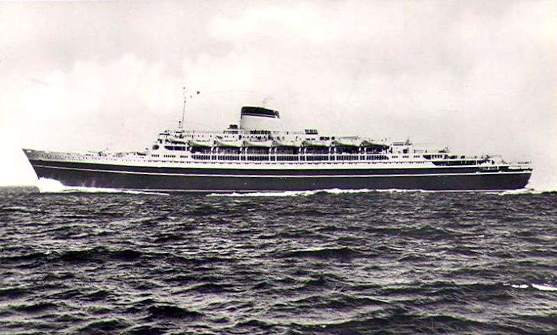 'Cristoforo Colombo' - Italia nav. - 1953 016ner10