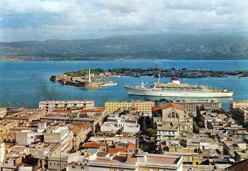 'Cristoforo Colombo' - Italia nav. - 1953 017bia10