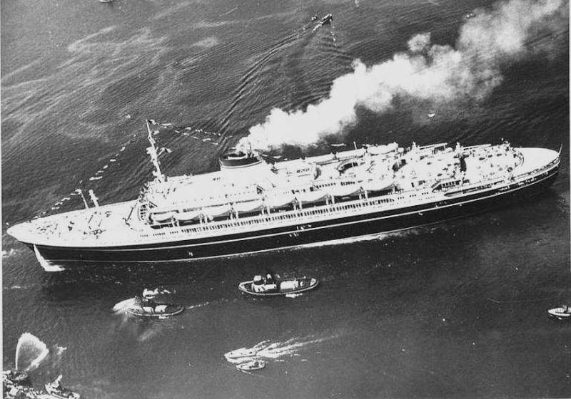 'Cristoforo Colombo' - Italia nav. - 1953 019ner10