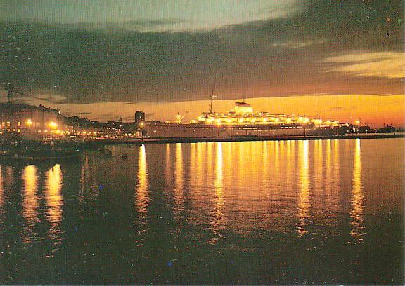 'Cristoforo Colombo' - Italia nav. - 1953 020biq10