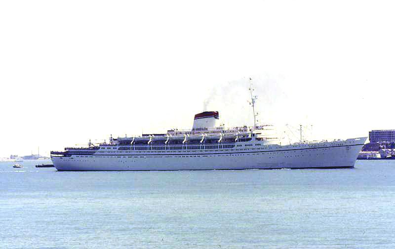 'Cristoforo Colombo' - Italia nav. - 1953 021bia10