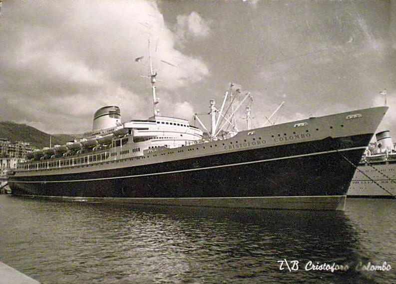 'Cristoforo Colombo' - Italia nav. - 1953 021ner10