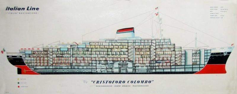 'Cristoforo Colombo' - Italia nav. - 1953 022ner10