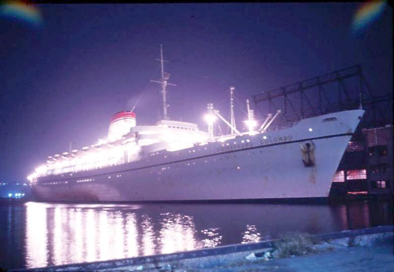 'Cristoforo Colombo' - Italia nav. - 1953 023bia10