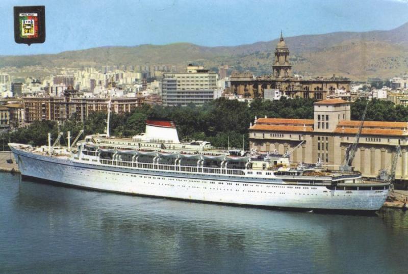 'Cristoforo Colombo' - Italia nav. - 1953 024bia10