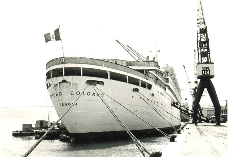 'Cristoforo Colombo' - Italia nav. - 1953 026bia10
