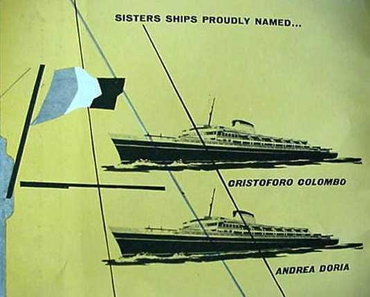 'Cristoforo Colombo' - Italia nav. - 1953 026ner10
