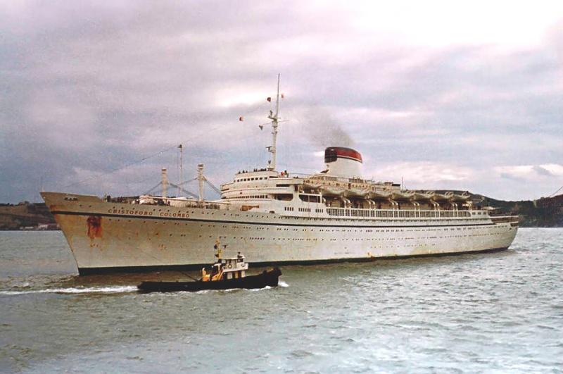 'Cristoforo Colombo' - Italia nav. - 1953 027bia10