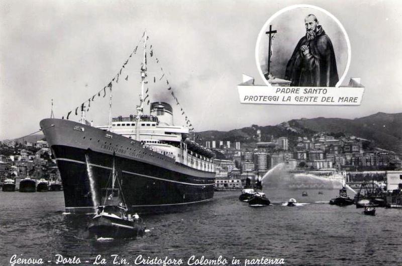 'Cristoforo Colombo' - Italia nav. - 1953 028ner10