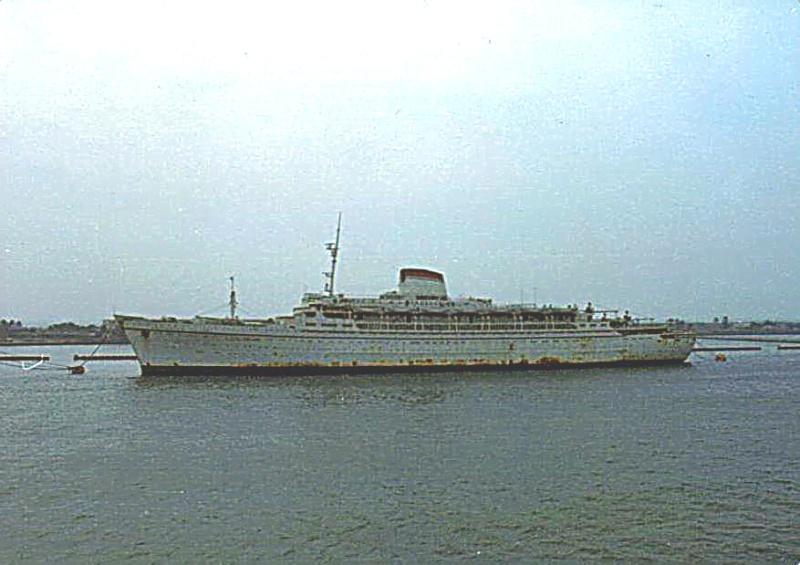 'Cristoforo Colombo' - Italia nav. - 1953 029bia10