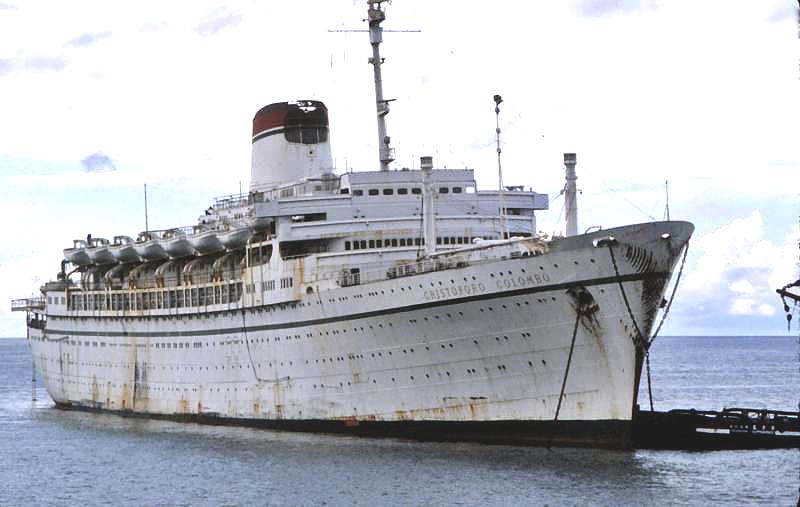 'Cristoforo Colombo' - Italia nav. - 1953 030bia10