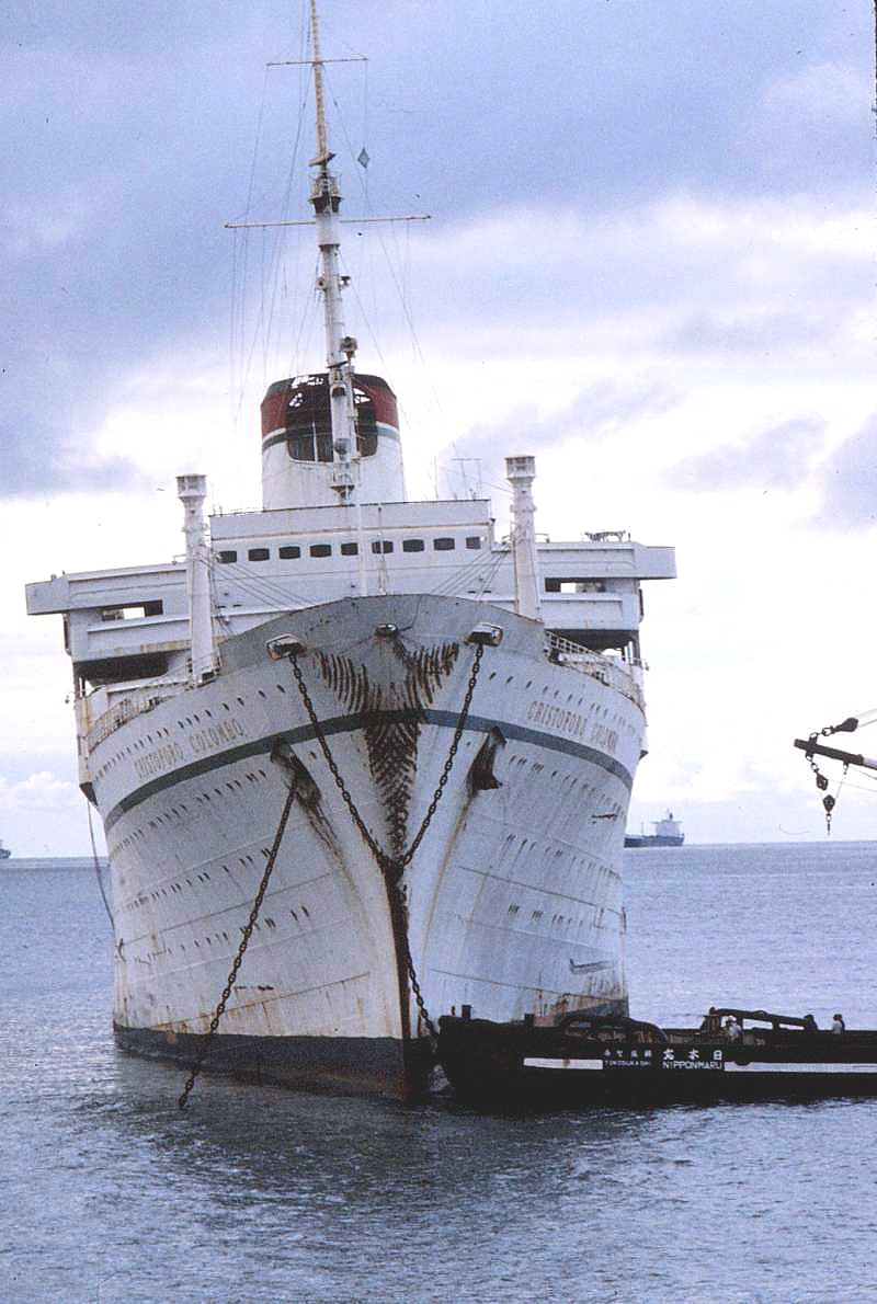 'Cristoforo Colombo' - Italia nav. - 1953 031bia10
