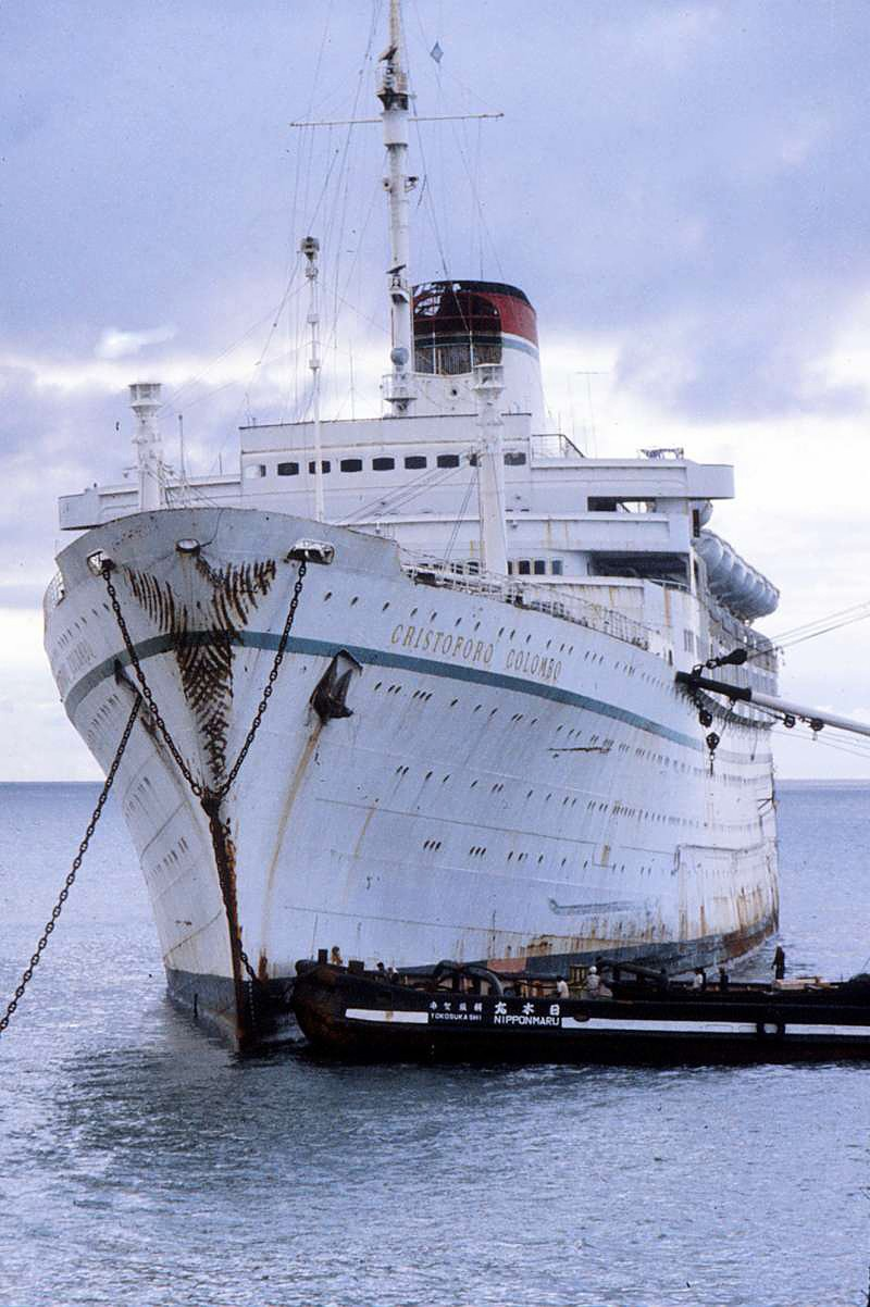 'Cristoforo Colombo' - Italia nav. - 1953 032bia10