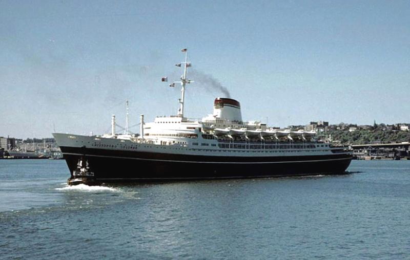 'Cristoforo Colombo' - Italia nav. - 1953 033ner10