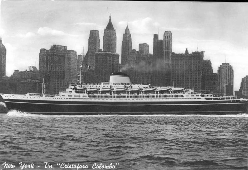 'Cristoforo Colombo' - Italia nav. - 1953 034ner10