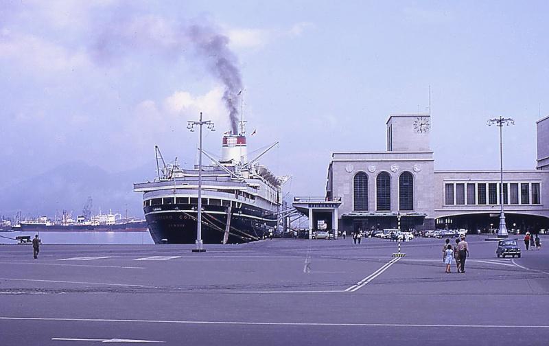 'Cristoforo Colombo' - Italia nav. - 1953 035ner10
