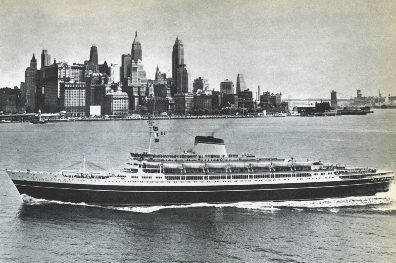 'Cristoforo Colombo' - Italia nav. - 1953 036ner10