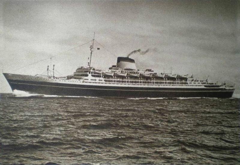 'Cristoforo Colombo' - Italia nav. - 1953 038ner10