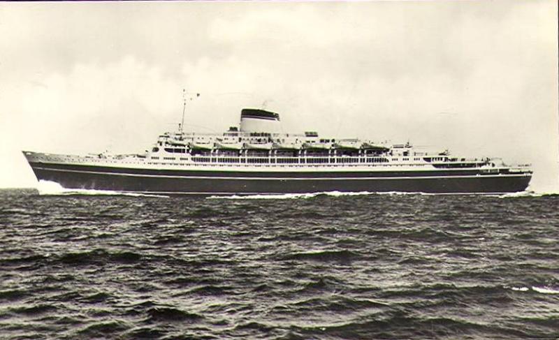 'Cristoforo Colombo' - Italia nav. - 1953 039ner10