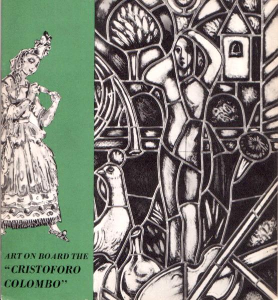 'Cristoforo Colombo' - Italia nav. - 1953 040ane10