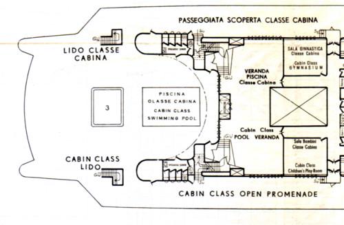'Cristoforo Colombo' - Italia nav. - 1953 044ner10